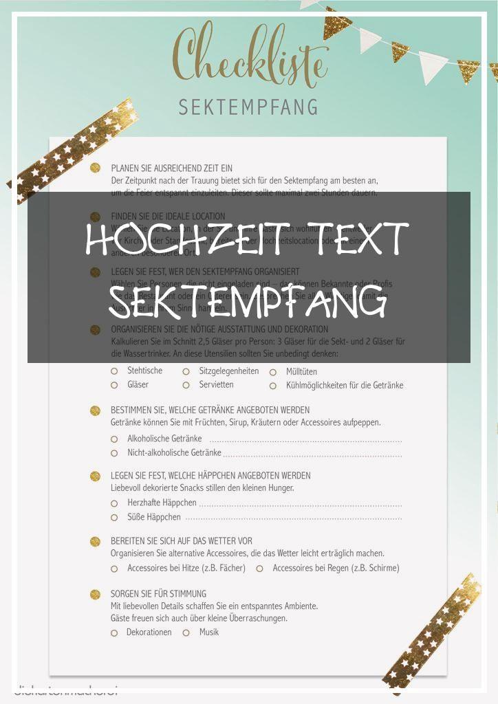Primary 13 Hochzeit Text Sektempfang