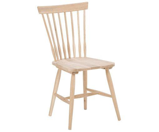 Mit Stuhl Melo aus Eichenholz steht dem perfekten Dinner nichts mehr im Weg. Shoppen Sie weitere Möbel von INTERSTIL auf >> WestwingNow.