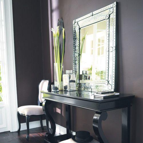 Glazen VÉNITIEN spiegel H 90 cm spiegel 209€ console 269€ voor hall?