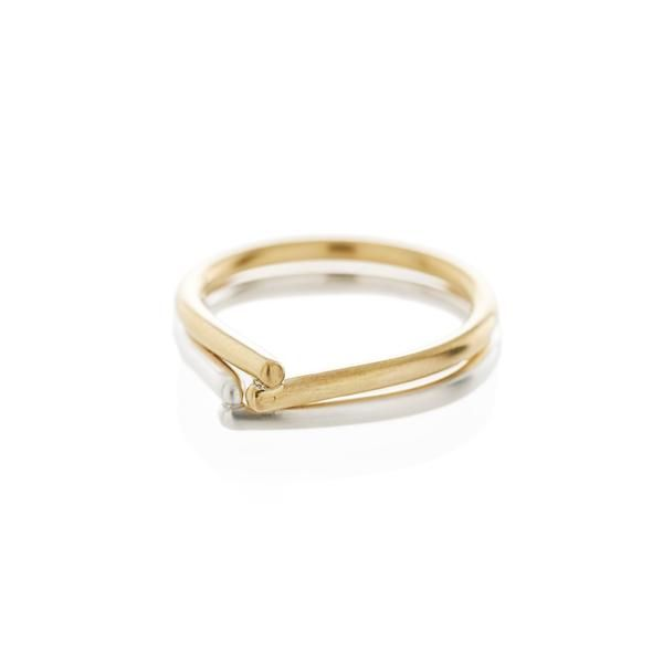 443f379ca Murmur Rings in Brass and Silver | Dear Rae Jewellery | RUMI | Rings, Gold  rings, Silver