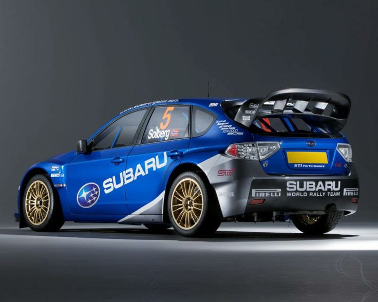 sti rally wing | trying to find the manufacturer of the 08 WRC wing on the back of ...