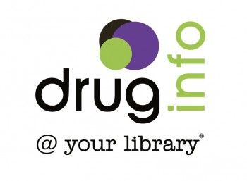 Logo - stacked version  - drug info @ your library