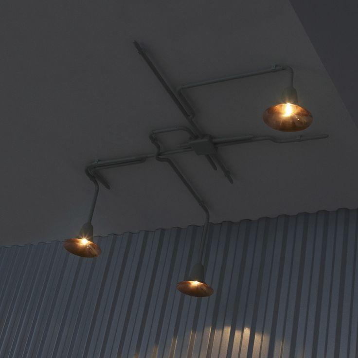 Les 25 meilleures id es de la cat gorie plafonnier industriel sur pinterest luminaire - Nettoyage cuivre vert de gris ...