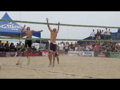 2010 AVP VOLLEYBALL TOUR HUNTINGTON BEACH Phil Dalhausser/Todd Rogers VS Jonathan Acosta/Ty Loomis