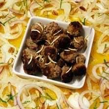 Mamma Toscans köttbullar med apelsin- och fänkålssallad