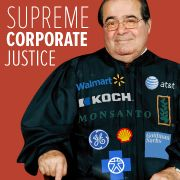 Supreme Court Justices Scalia and Thomas actively participate in political events sponsored by the Koch Brothers. NO MORE Republican appointees!