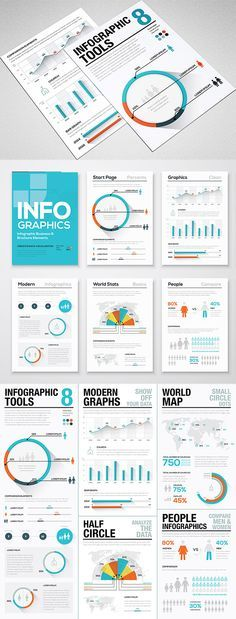 Mats Forss from the Infographic Template Shop is back again bearing more gifts for Access All Areas members. Last year Mats kindly donated two infographics templates for members to download, and he's now sharing another of his vector infographics tools products. This latest collection features a range of flat style elements with trendy long shadows …