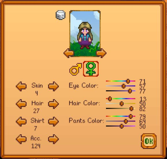 how to put on hats stardew valley