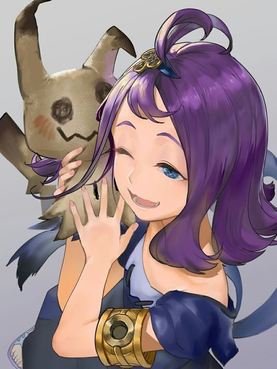 Pokemon Sun and Moon Acerola | Games and Stuffs | Pinterest