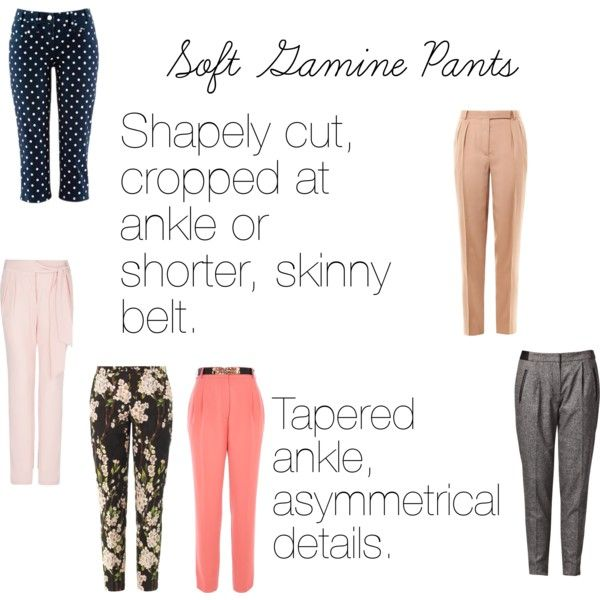 Soft Gamine (SG) Pants, created by softgamine on Polyvore