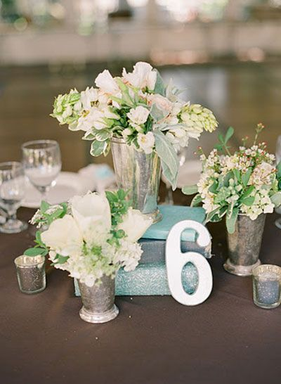 5 Non-Traditional Wedding Ideas for 2013 - looks like mint green will be a big color this year.