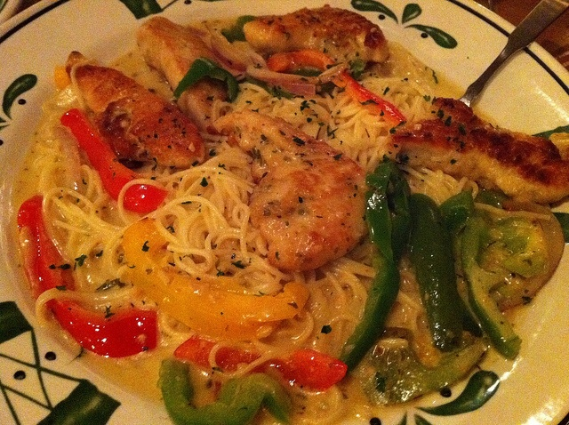 Olive Garden Chicken Scampi My Favorite Food Yummy Pinterest Gardens Olives And Olive