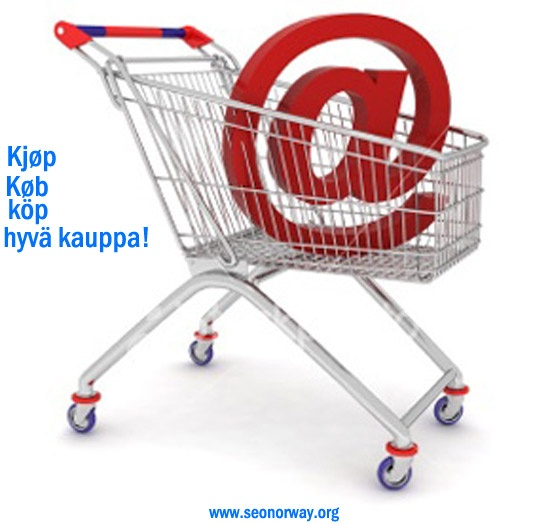 SEO Norway- Online Shopping is the Craze in Scandinavia