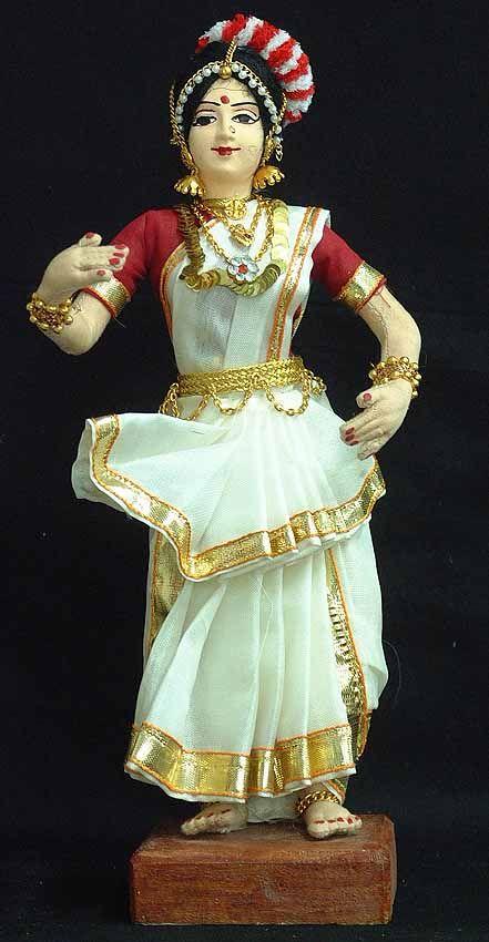 DAnce of India Doll-Mohiniattam