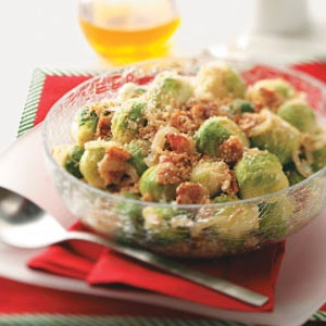 Balsamic Glazed brussels sprouts  Hmmm  just might have to try these.  Stay tuned for either a thumbs up or thumbs down.