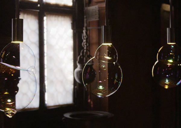 SURFACE TENSION LAMP - Bagatti Valsecchi 2.0 http://www.chometemporary.it/2013/04/18/museo-bagatti_valsecchi-rossana_orlandi/