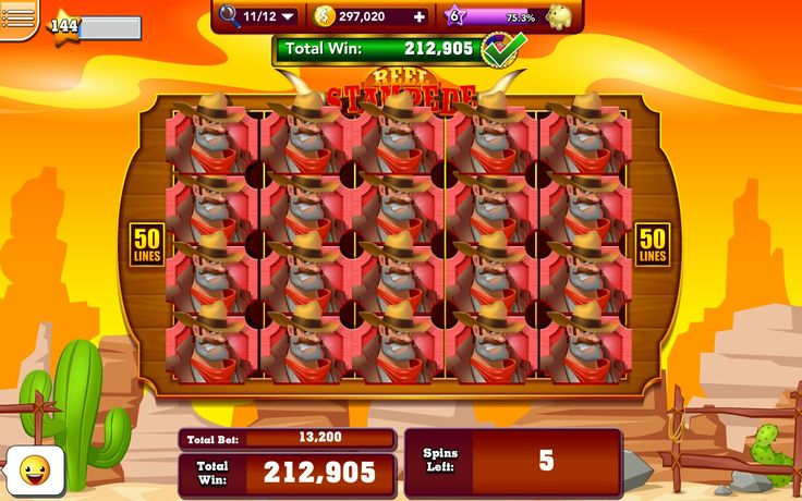 Reel Stampede slot room