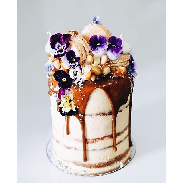 #mulpix Sunday's are for red velvet, Turkish fig and walnut cake; dripping in salted caramel from @tome____. #love #sunday #sundayfunday #australia #travel #holiday #travelling #cute #dessert #cake #food #pretty #yum #sweet #baking #celebration #weekend #flowers #tome #chocolate #pink #purple #instamood #instadaily #instacool