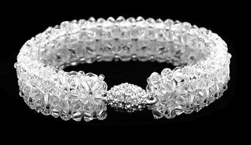 Swarovski bracelet, Other Jewelry beads, Patterns (free) - NewPerle : vente de perles en ligne