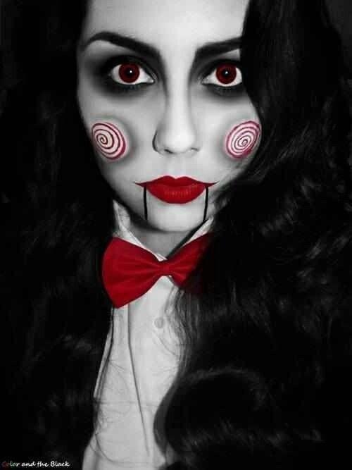 Inspiración en maquillajes para Halloween, Â¡terrorÃfico!