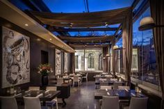Restaurant Funky Gourmet, Athens Greece