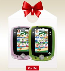 PIN TO WIN SWEEPS: Now you can enter to win 500$ worth of LeapFrog products when you create a wish list pinboard on Pinterest and enter via Facebook here: http://social.leapfrog.com/5Wm  We'll randomly pick a winner once a week through 12/2, so get pinning!