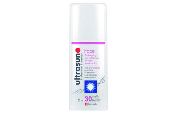 Looking for a new sunscreen? We really like the Ultrasun Face SPF30. It's creamy but non-greasy, long-wearing but not pore-blocking and doesn't have any added fragrance.