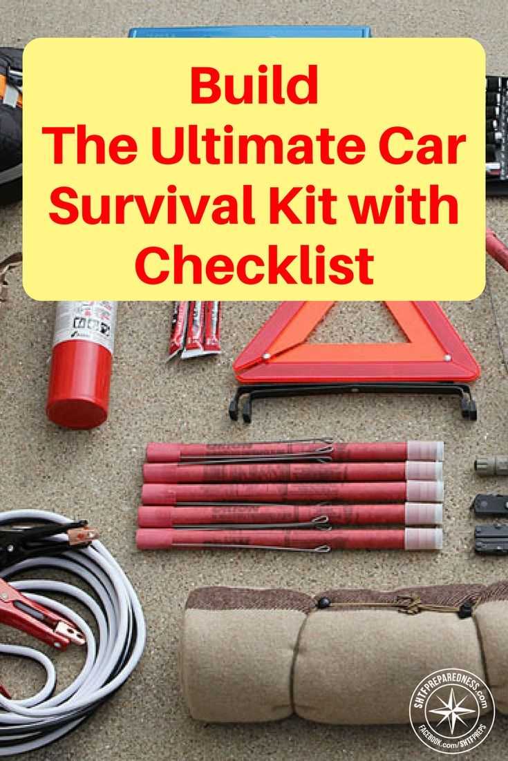 How to build the ultimate car survival kit with checklist