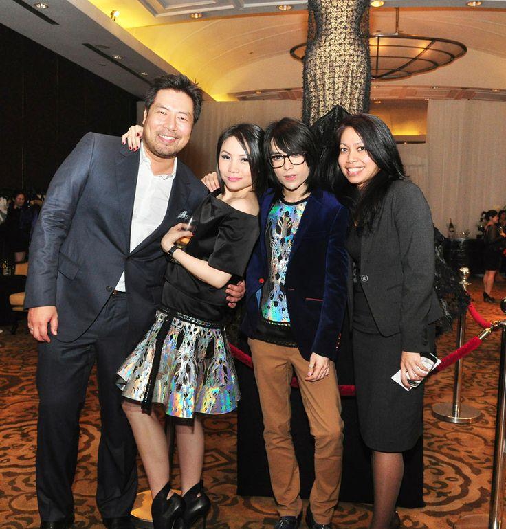 Mr. Ronald Liem, Ms. Faye Liu, Mr. Tex Saverio & Ms. Muna