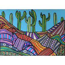 Resultado de imagen para cactus y llamas dibujos