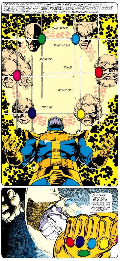George Perez & Jim Starlin, Infinity Gauntlet #1