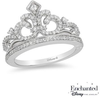 30 best enchanted disney fine jewelry images on pinterest for Disney fine jewelry rings