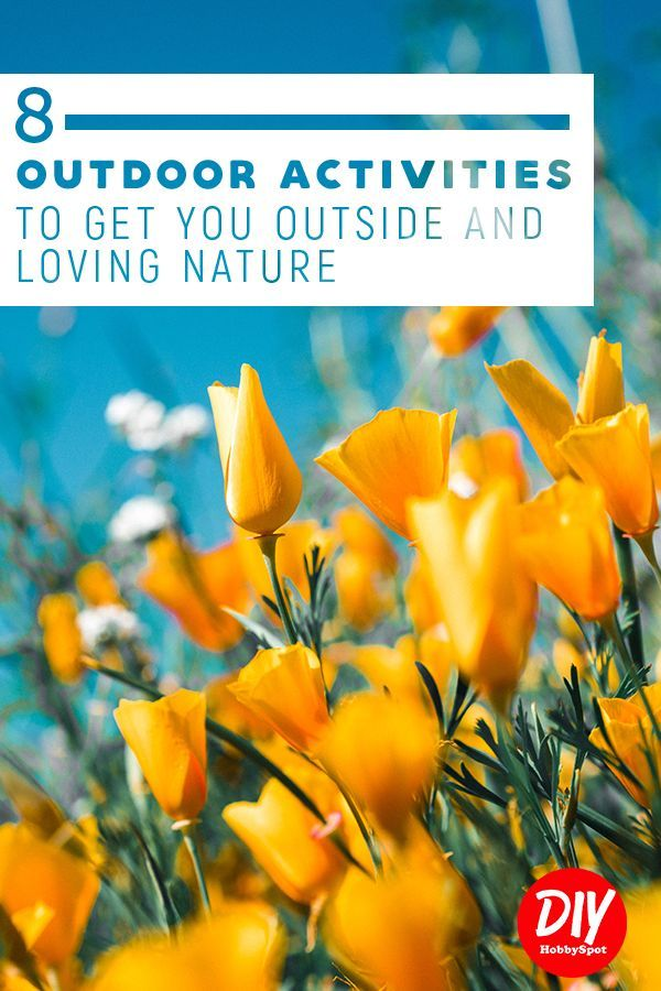 If You Love The Outdoors And Need A Hobby Check Out This Inspiration For Ideas Outdoor Hobbies