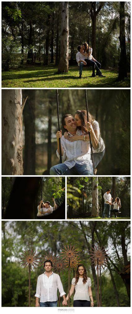 Sesión de fotos pre boda de Fernanda y Jorge en Celaya, Guanajuato [Fotos]