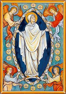 Molly Makes Do: Little HolyDays: Feast of the Assumption