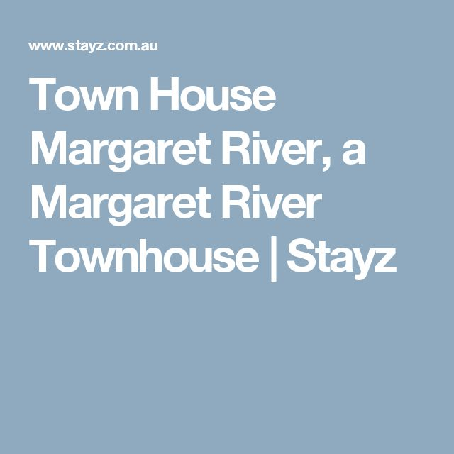 Town House Margaret River, a Margaret River Townhouse | Stayz