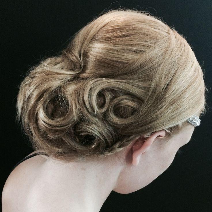 Prom hair made by Pernilla Kilgren