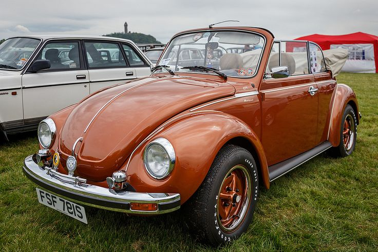 VW Beetle Convertible | Flickr - Photo Sharing! This Brazilian Brown color was only used from 1978-1980.