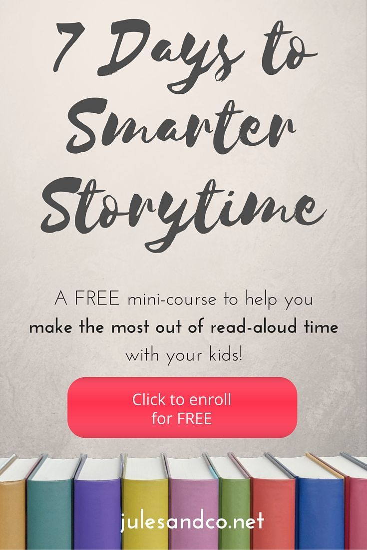 Wondering if your read-aloud time is effective? Learn how to do storytime like a pro in this FREE 7 Day mini email course! Armed with my background as a teacher and a mama, I'll teach you how reading to your child can help you to build big brains, foster connection, and make storytime unforgettable! Enroll for FREE now and share with a friend!