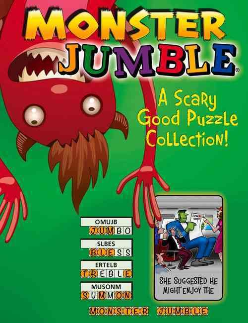 Monster Jumble: A Scary Good Puzzle Collection!
