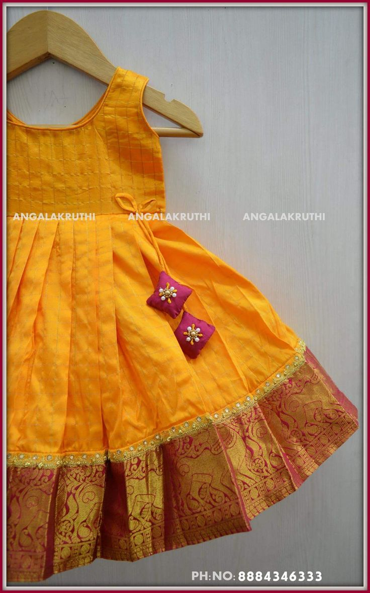Pavada designs by Angalakruthi boutique Bangalore