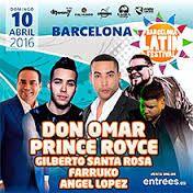 GRUPO(S): Latin Festival 2016   Electronica   FECHA: Domingo, 10 de Abril, 2016  SALA: La Farga  LOCALIDAD: Barcelona, Barcelona  Hora: 13:00 h. Precio: 55,00 euros
