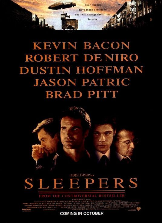 Sleepers Movie Poster - Internet Movie Poster Awards Gallery