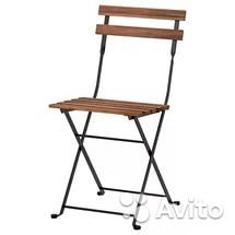 Садовые стулья Терно икеа б/у— фотография №1
