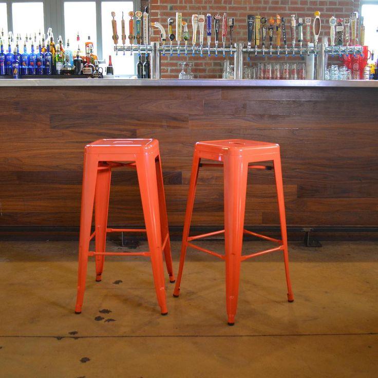 78 Best Ideas About Metal Bar Stools On Pinterest