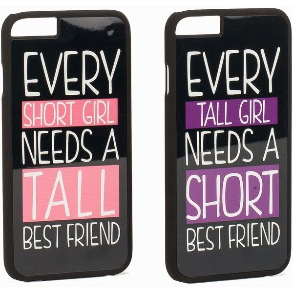 Jfr Iphone 6 Best Friend found on Polyvore featuring accessories, tech accessories, phone, bags, black and womens-fashion