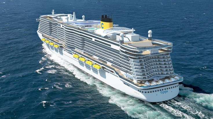 New Costa Cruises Ship Rendering ~ Costa Cruises Announces Two New Cruise Ships and Culinary Program | Popular Cruising (Image Copyright © Costa Cruises)