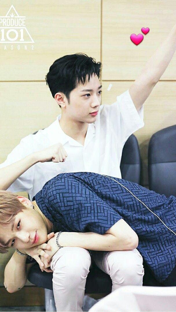 Lai Kuan Lin (라이관린) & Kang Daniel (강다니엘) | wallpaper produce 101 season 2