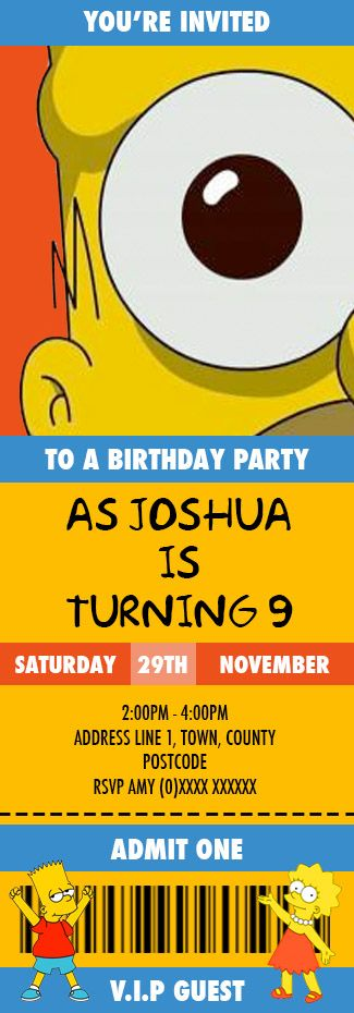 Top 25+ unique Simpsons party ideas on Pinterest | Party banners  BZ37