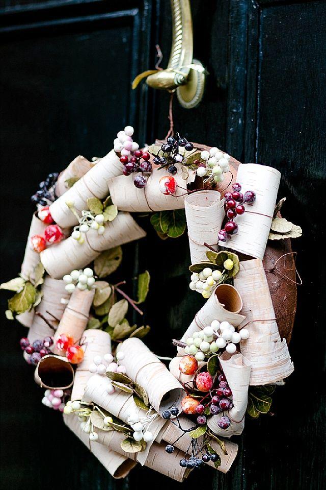 Türkranz aus London  - Munter mitgereist.... Weihnachten in London mit Christine Jütte Photography | Hochzeitsblog - The Little Wedding Corner